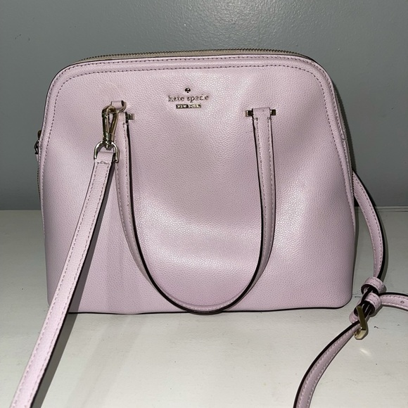 Peony blush Kate Spade dome purse